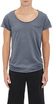 NSF Men's Reverse-Seam Cotton T-Shirt-BLUE, NAVY