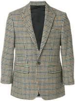 Raf Simons houndstooth pattern blazer
