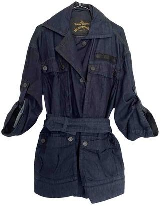 Vivienne Westwood Navy Denim - Jeans Leather jackets