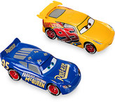 Disney Rust-eze Cruz Ramirez & Fabulous Lightning McQueen Die Cast Twin Pack - Cars 3