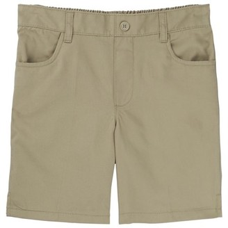 French Toast Girls School Uniform Pull-On Twill Shorts, Sizes 4-20