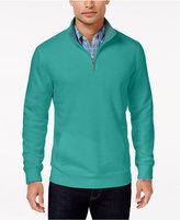 Club Room Men's Big and Tall Quarter-Zip Pullover, Only At Macy's