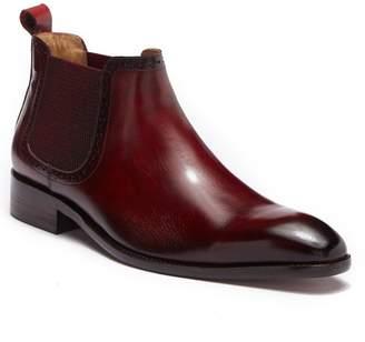 MAISON FORTE Ivan Chelsea Leather Boot