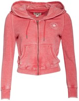 Converse Womens Procession Full Zip Hoody Raspberry