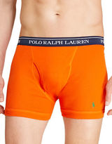 Polo Ralph Lauren Classic Fit Cotton Boxer Briefs Set of 3