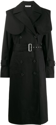 Victoria Beckham Double-Breasted Trench Coat