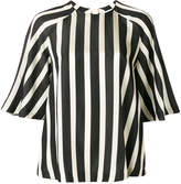MSGM striped raglan blouse