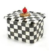 Mackenzie Childs MacKenzie-Childs Courtly Check Enamel Recipe Box