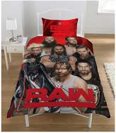 WWE Raw Vs Smackdown Single Duvet Cover Set