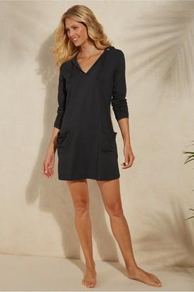 Soft Surroundings UPF 50+ Beach Cover Up Dress
