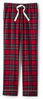 Classic Women's Petite Flannel Sleep Pant-Rich Pine Plaid