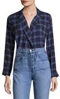 3x1 Moxy Wrap Plaid Shirt