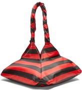 Givenchy Pyramid striped leather tote