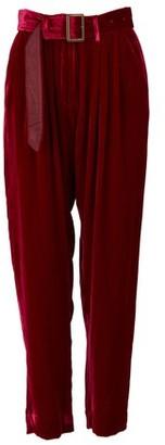 Forte Forte Pleated velvet pants