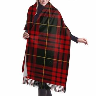 Beauty Design Womens Large Soft Cashmere Scarf Shawl Elegant Comfortable Winter Scarf Warm Wraps Shawls - Macqueen Tartan