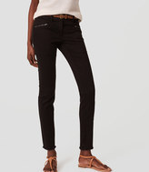 LOFT Tall Frayed Skinny Pants