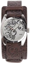 edc by Esprit edc Ladies Wristwatch Forever Ornaments - Tabacco Brown, Silver A.EE100182001