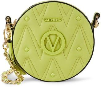 Mario Valentino Valentino By Yuki Sauvage Rockstud Leather Circle Crossbody Bag