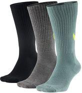 Nike Men's 3-pack Dri-Fit Swoosh HBR Crew Socks