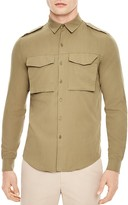 Sandro Militaria Slim Fit Button-Down Shirt