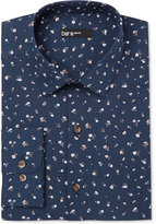 Bar III Men's Slim-Fit Midnight Floral Dress Shirt, Only at Macy's