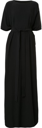 Rick Owens Tie Waist Long Dress