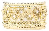 Charlotte Russe Filigree & Embellished Bangle Bracelets - 8 Pack