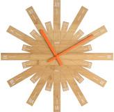 Alessi Raggiante Wall Clock - Bamboo