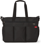 Skip Hop Black Duo Double Signature Tote Diaper Bag