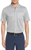 Travis Mathew Men's 'Potter' Short Sleeve Wrinkle Resistant Sport Shirt