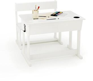 La Redoute Interieurs TOUDOU Childs Pine Desk and Bench