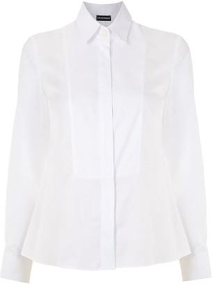 Emporio Armani Contrast Bib Shirt