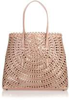 Alaia Dark beige leather cut-out bag