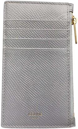 Celine Grey Leather Purses, wallets & cases