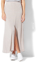 New York & Co. Striped Maxi Skirt