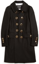 DSQUARED2 Golden Military Coat