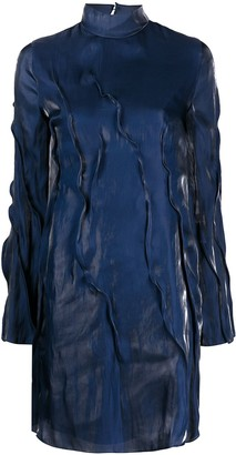Kenzo Wave pleated dress