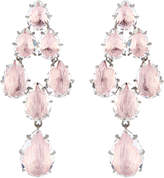 Larkspur & Hawk Caterina Swag Quartz Pink Earrings