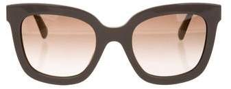 Marc Jacobs Oversized Gradient Sunglasses