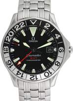 Omega Men's 50th Anniversary Seamaster GMT Stainless Steel Watch, 41.5mm