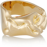 Jennifer Fisher Bow gold-plated ring