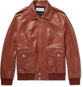 Loewe Textured-Leather Jacket