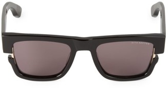 Dita Eyewear 53MM Sektn Rectangular Sunglasses