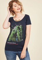 Novel Tee Cotton T-Shirt in Jose in L