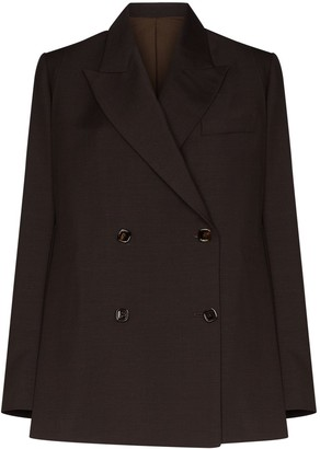 Eftychia Double-Breasted Oversized Suit Jacket
