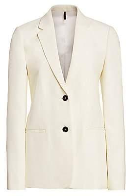 Helmut Lang Women's Cady Single-Breasted Blazer - Size 0