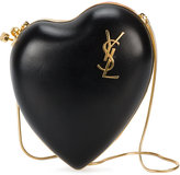 Saint Laurent Love monogram clutch bag - women - Leather/Metal (Other) - One Size