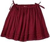 Pink Chicken Maggie Skirt (Toddler/Kid) - Magenta Purple-6 Years