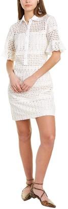 Nicole Miller Eyelet Shirtdress