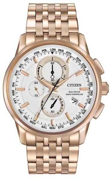 Citizen Men's Eco-Drive Bracelet Watch, 43mm